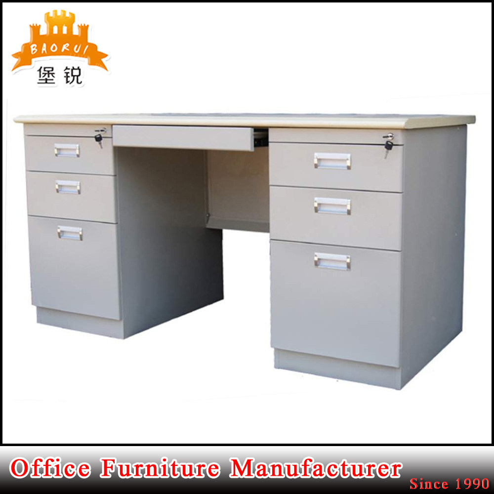 Fas 047 Steel Furniture Metal Executive Desk Office Computer Table