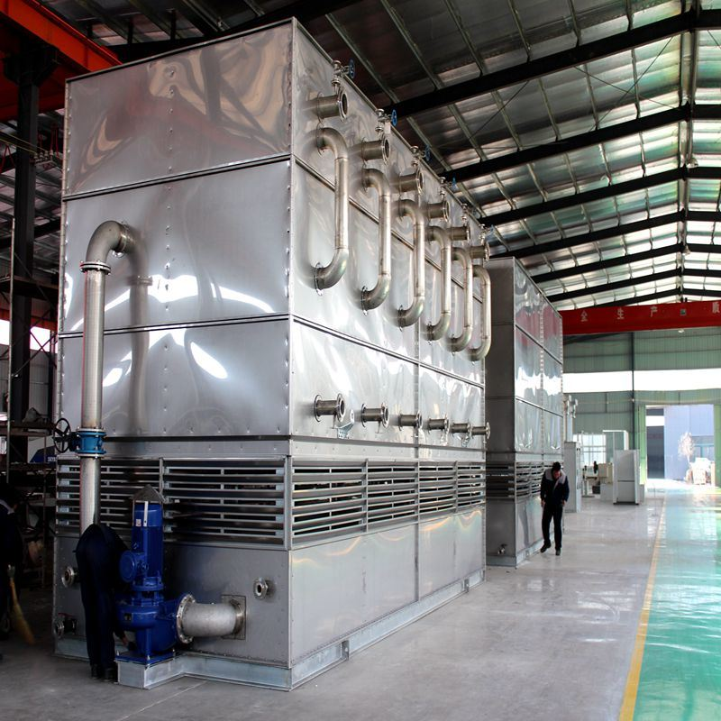Countercurrent Evaporative Cooler for Industrial