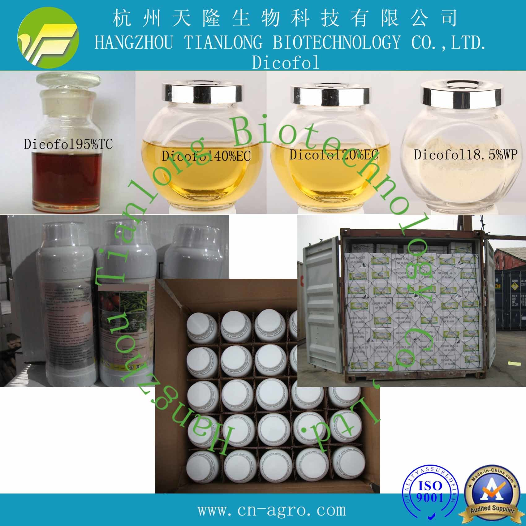 China Good Quality Acaricide Dicofol (95%TC, 40%EC, 20%EC
