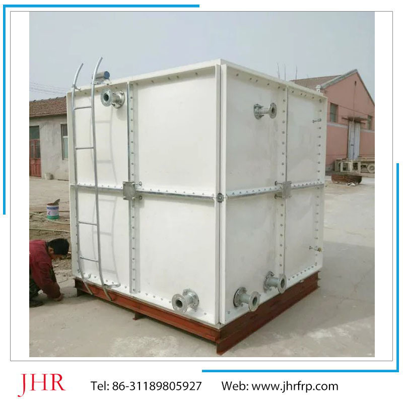 China FRP Heat Resistant Portable Rectangular Square Water