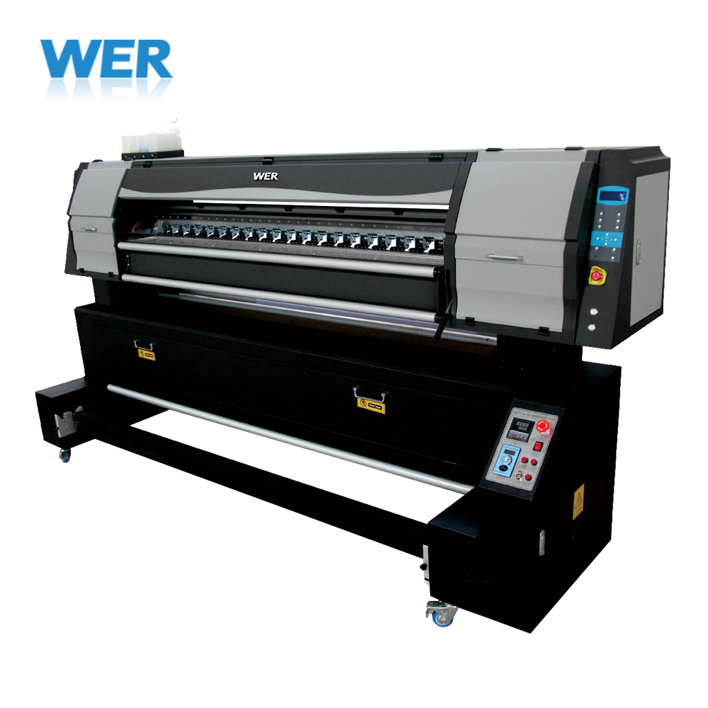 1.8m Digital Textile Fabric Printer Machine with Epson Dual Printing Head pictures & photos