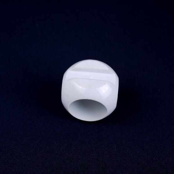 PVC Plastic Molding Pipe Fitting Parts Value Ball