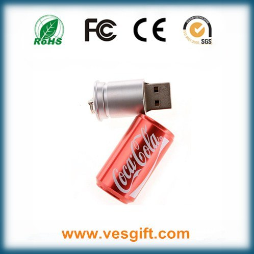 Promotional Gift Cocacola Bottle USB Memory Stick