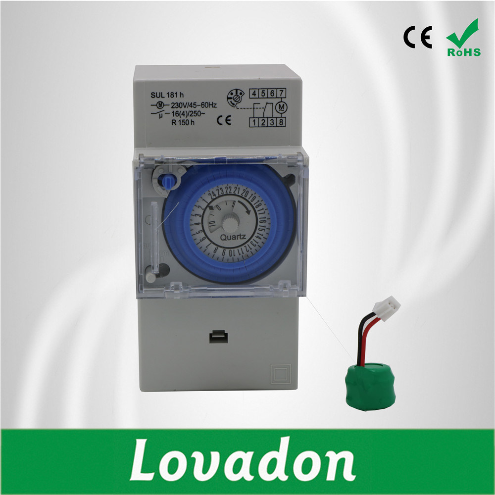 China Without Battery Circuit Breaker Electronic Mechanical 220v Protection Electronics Accessories Programming Timer Switch