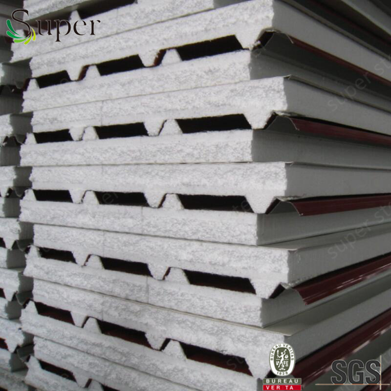Building Material EPS Sandwich Panel for Prefab Low Cost Homes pictures & photos