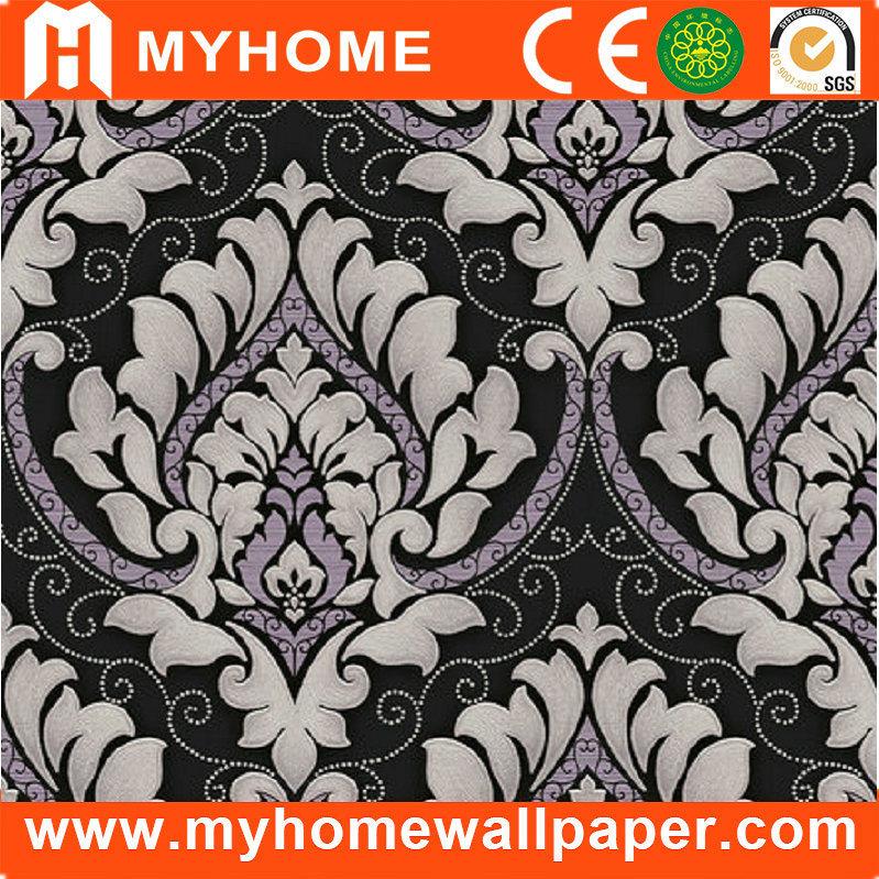 china black and white damask design wallpaper guangzhou china