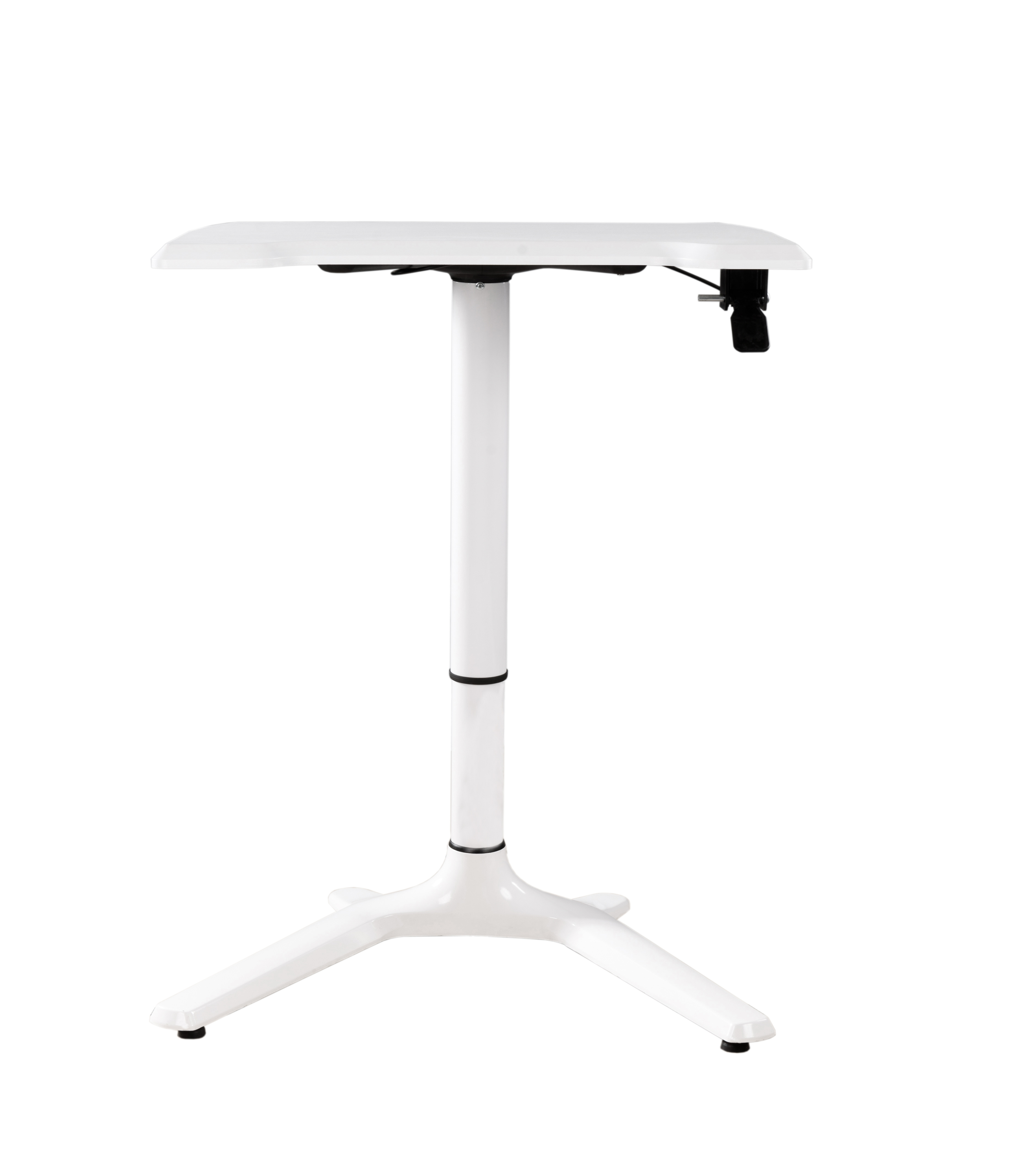 Sensational Hot Item White Color Height Adjustable Office Desk Table For Reading And Laptop Download Free Architecture Designs Scobabritishbridgeorg