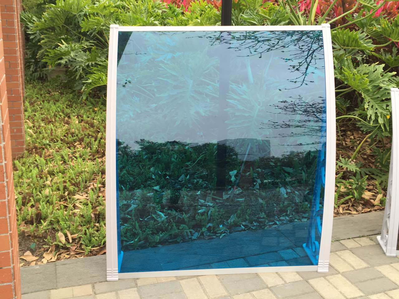 Cheap 2.7mm Soild PC Polycarbonate Rain Cover Awning (B-1000) pictures & photos