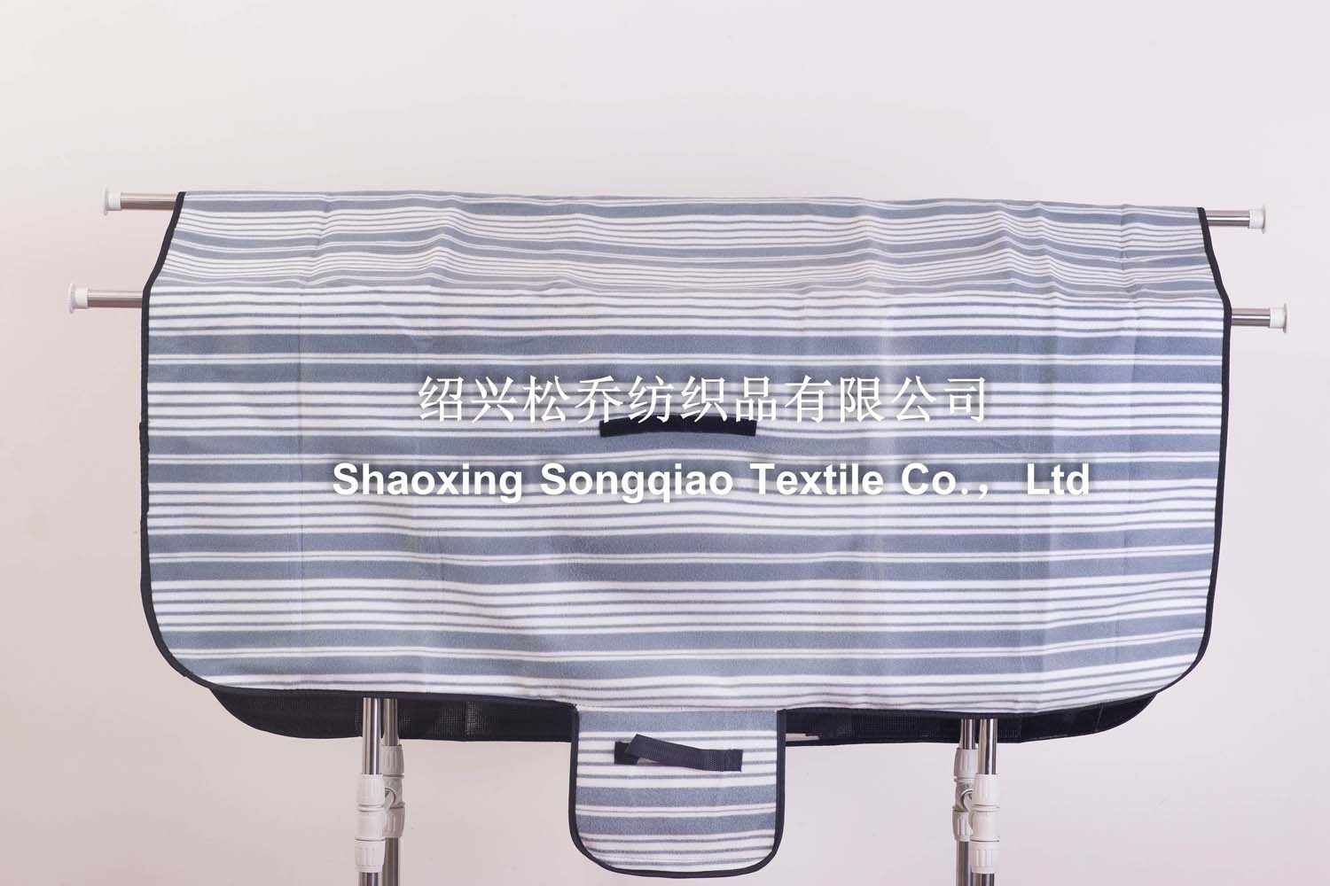 Three in One Stripe Printed Polyester Fleece Picnic Blanket/Custom Blanket pictures & photos