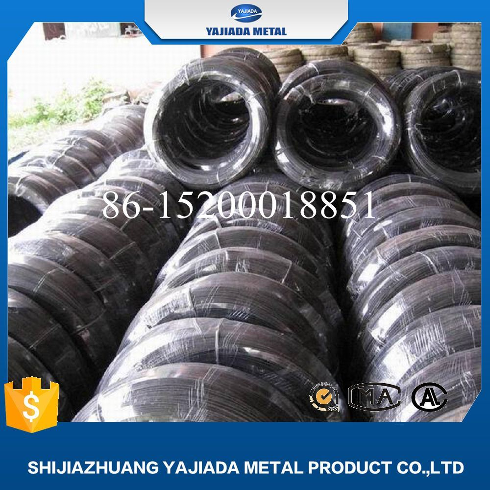 China Soft Type Black Annealed Binding Wire Factory (20 gauge ...
