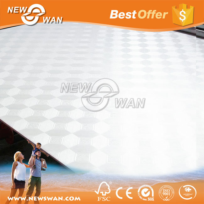 PVC Laminated 60X60 Gypsum Ceiling Board and Ceiling Tile for Decoration
