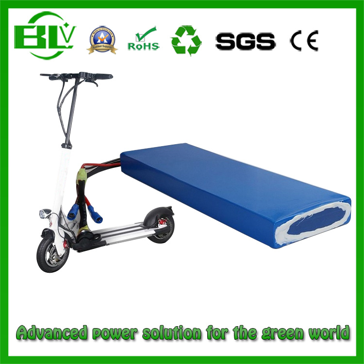 36V 20ah 10s2p Electric Skateboard E Scootor Battery with Smart BMS