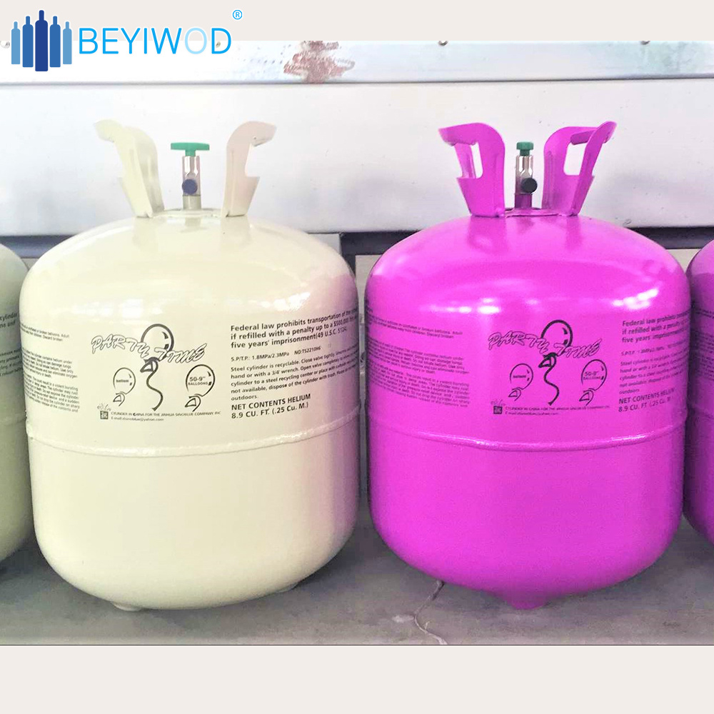 China 13 4L Helium Tank Balloons Disposable Helium Gas