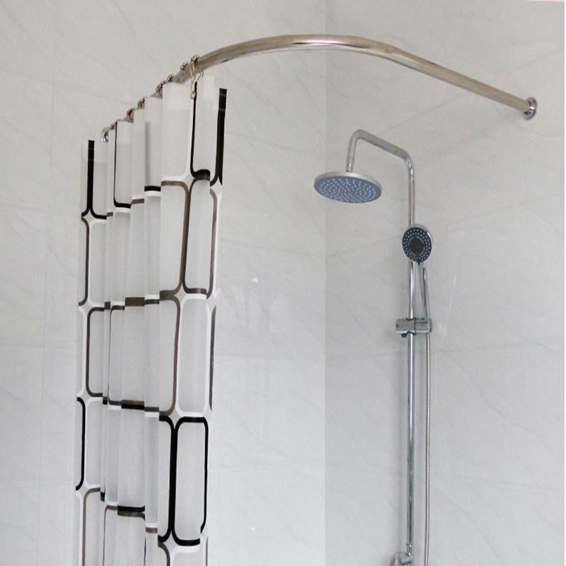 Adjustable Shower Curtain Rod.Hot Item Stainless Steel Adjustable Shower Curtain Rod Holder Curtain Rods