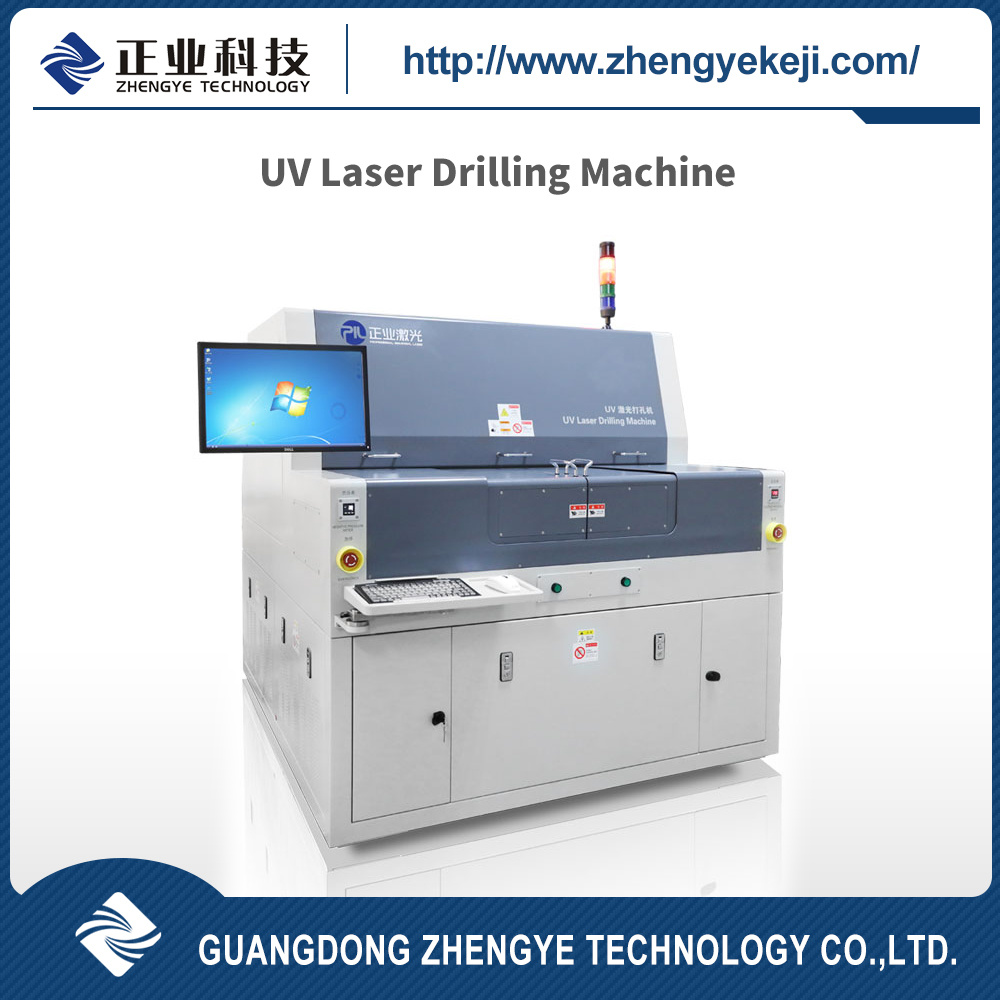 China Flexible Printed Circuit Boards Laser Drilling And Cutting Images Of Machine Jg23m Equipment