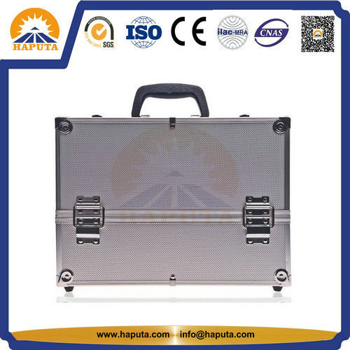 Custom Aluminum Cosmetic Beauty Makeup Box (HB-1201)