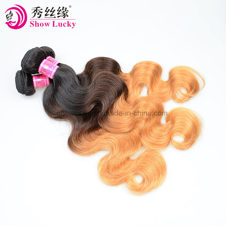 China Wholesale Cheap Top Quality Ombre Hair Body Wave Virgin Remy