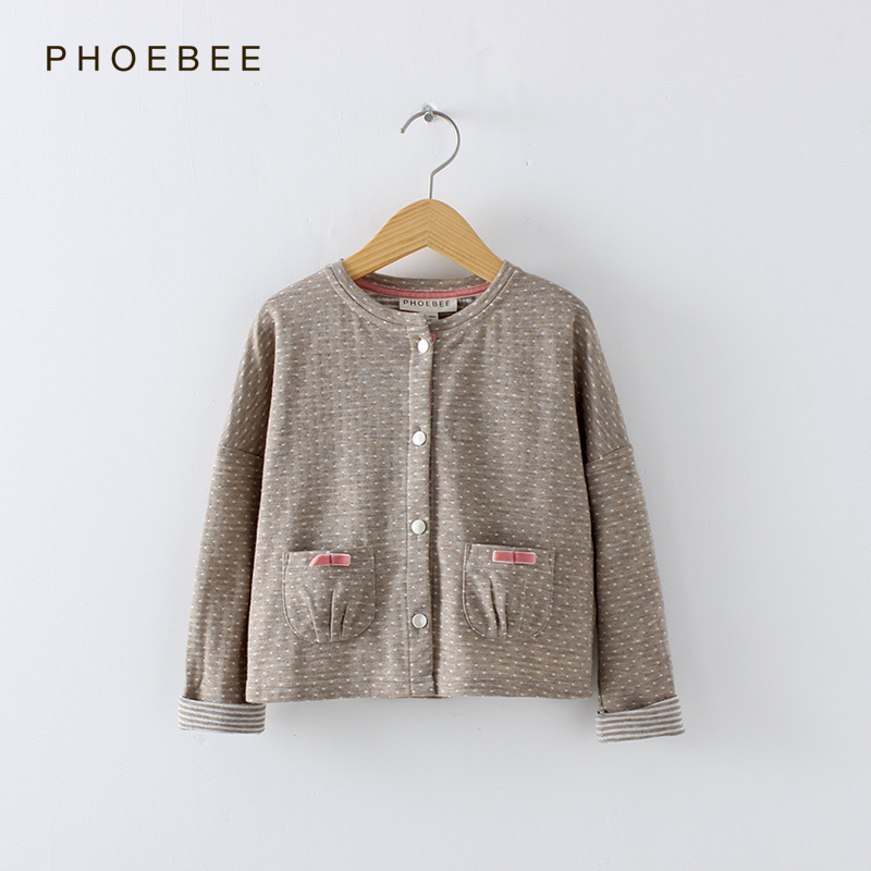 Phoebee Wholesale Fashion Spring/Autumn Children Garment for Girls