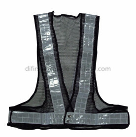 High Visibility Safety Vest with Certification (DFV1037)