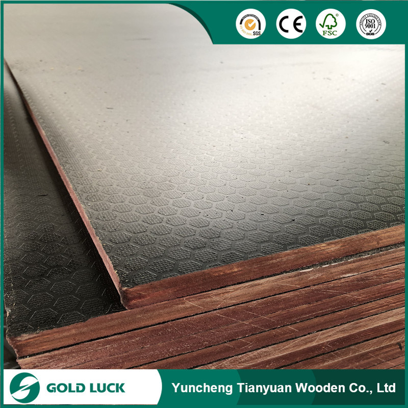 Building Construction Site Use Scaffold Formwork Film Faced Plywood pictures & photos