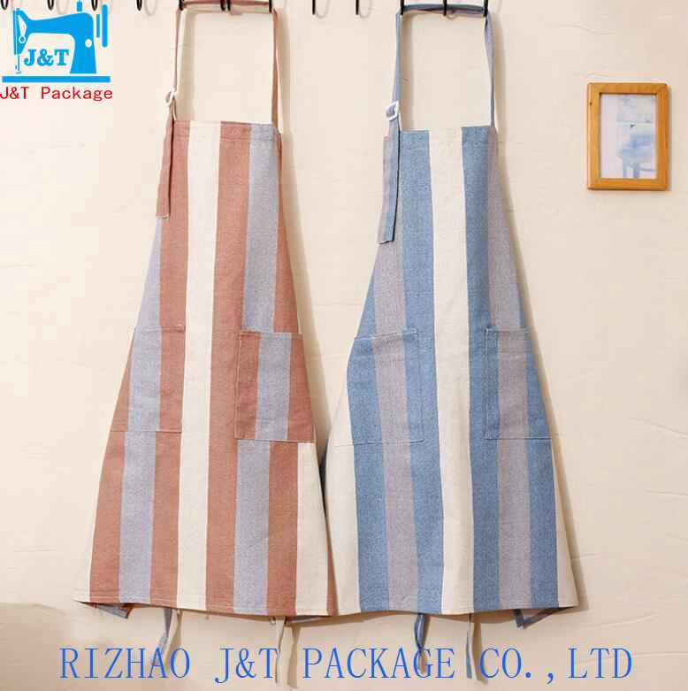 China Wholesale Cotton Embroidery Design Custom Printed Apron For