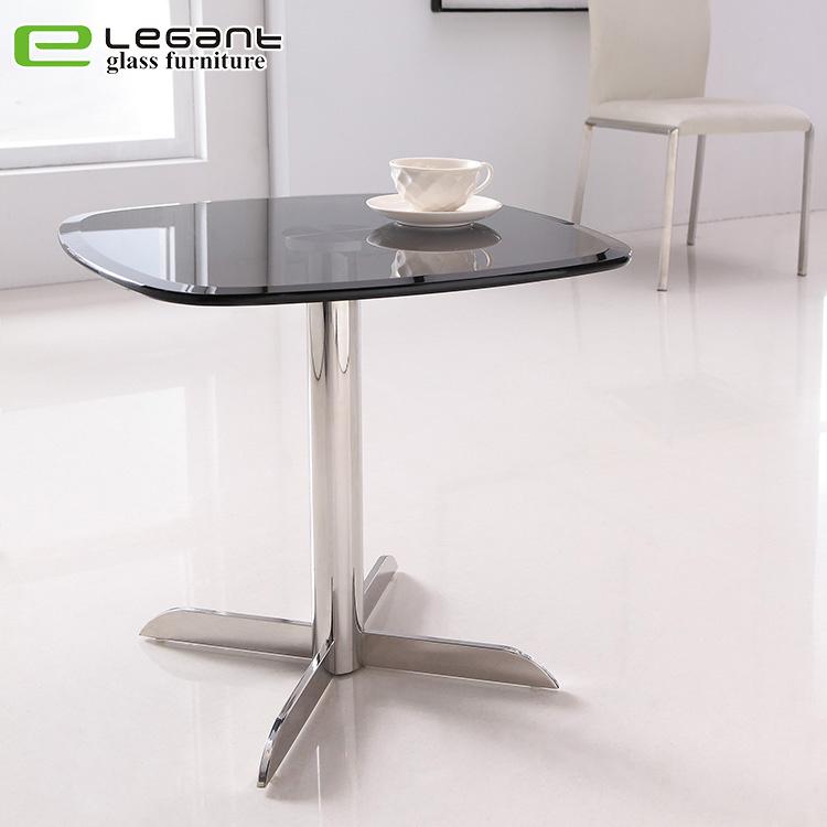 [Hot Item] Modern Living Room Sofa Small Glass Side Table