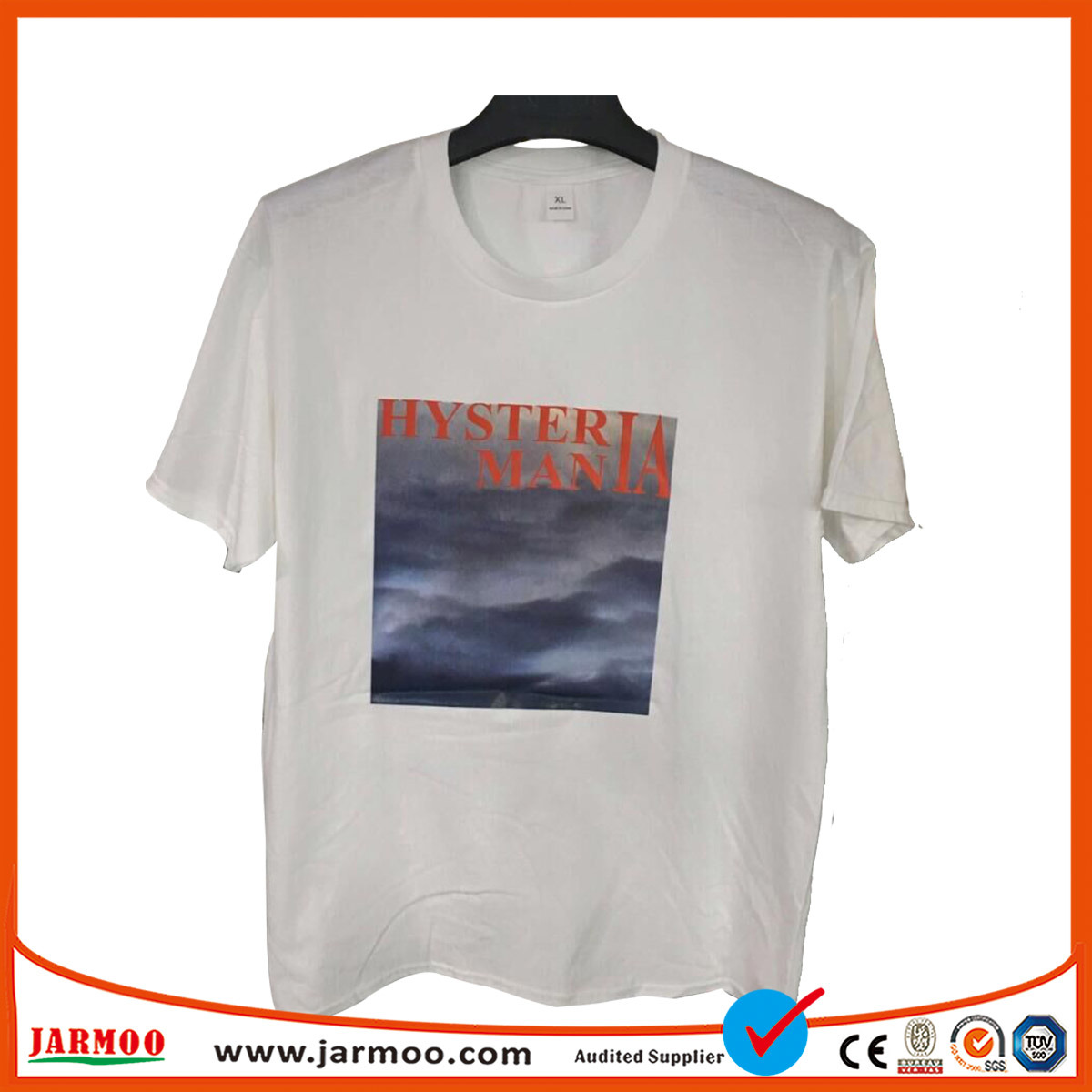 2dec5bc46 China OEM Service Design Your Own Organic Cotton White T Shirt - China T  Shirt, Polo Shirt