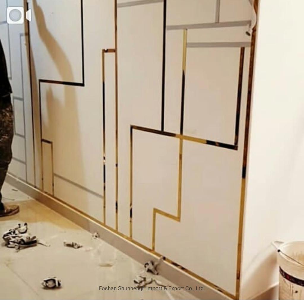 Hot Item Decorative Metal Strips Stainless Steel Tile Trim