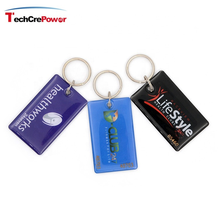 ID Epoxy Keyfob Waterproof and Wear Resistant RFID Epoxy Keyfob pictures & photos