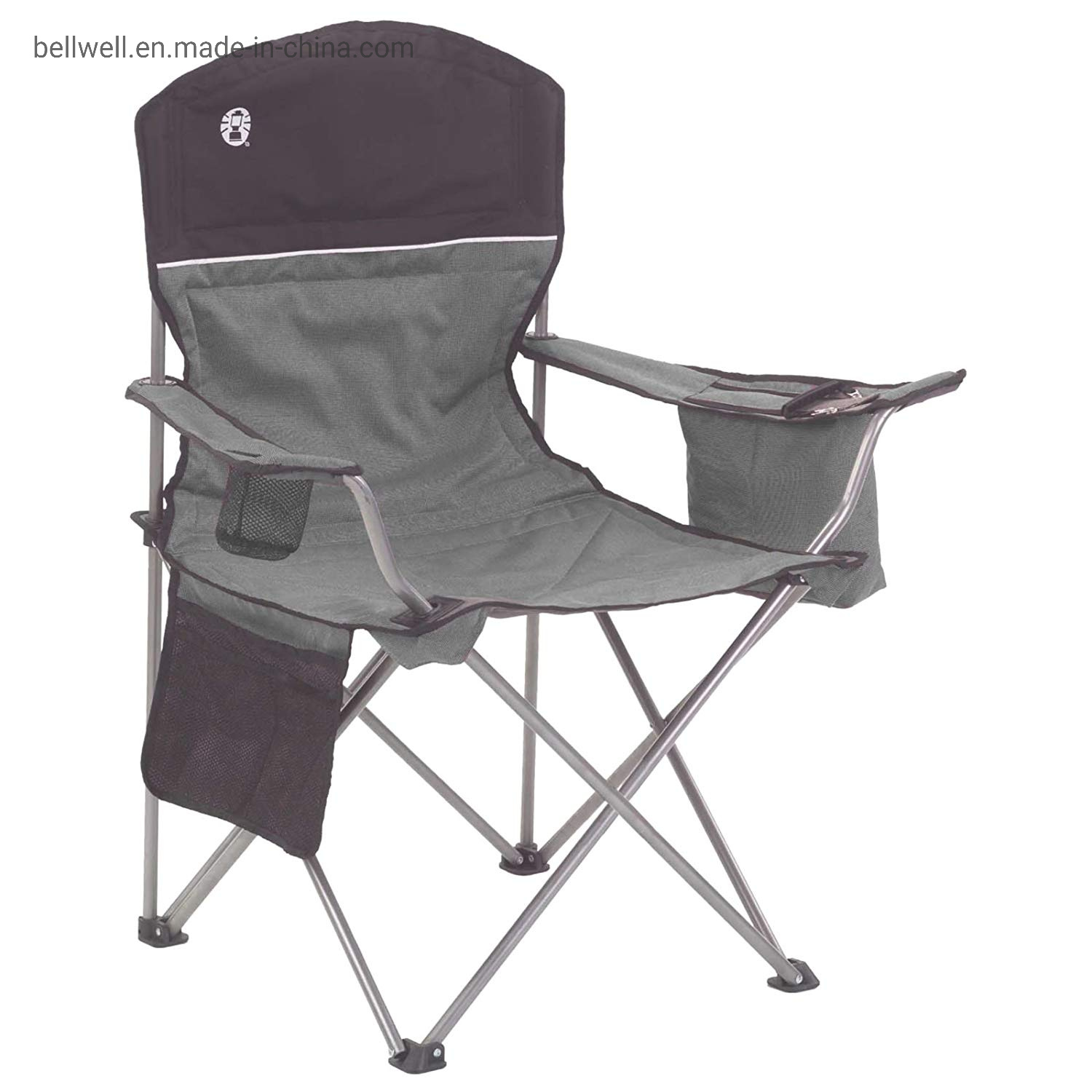 Hot Item Oversized Mesh Back Camping Folding Chair Heavy Duty Support