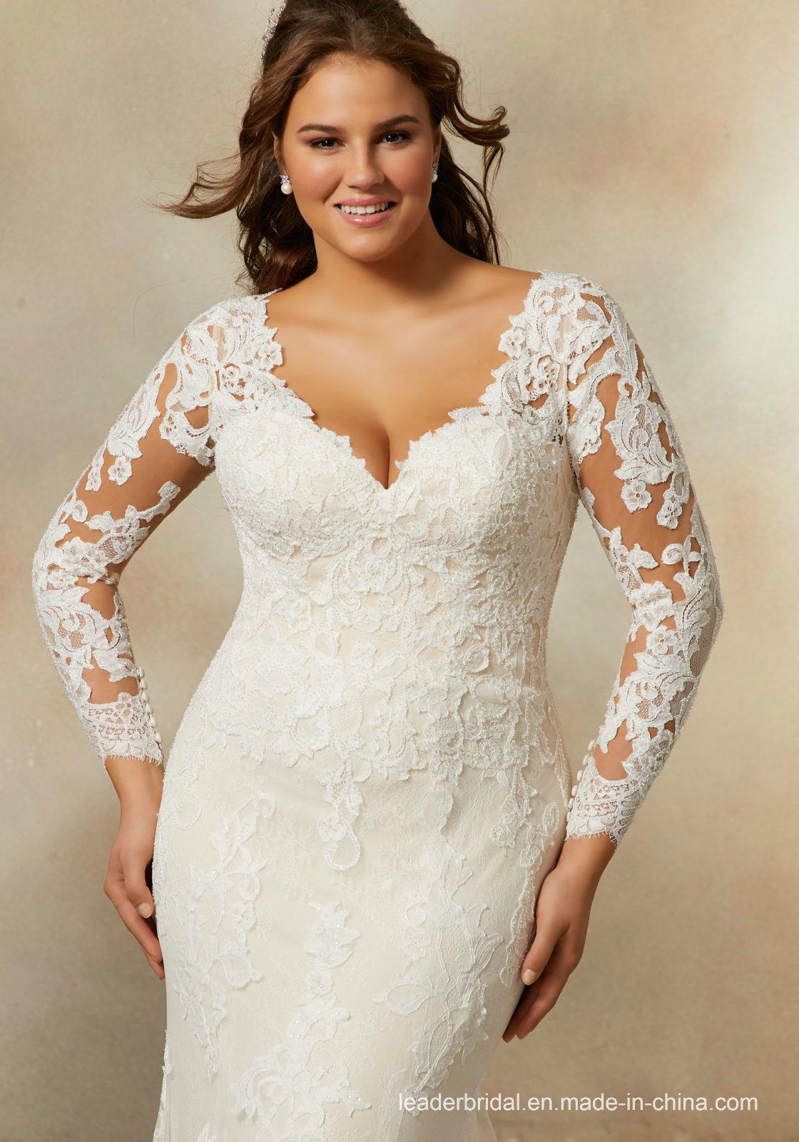 7a02676cb6f Plus Size Long Sleeve Mermaid Wedding Dresses - Gomes Weine AG