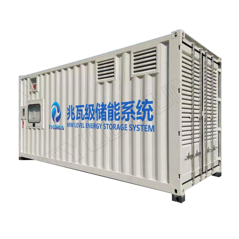 Tycorun 300kwh 500kwh 20FT Containerized Energy Storage System 1mwh LiFePO4 Battery for Ess Container Application