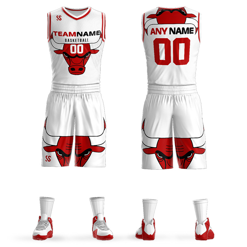 huge selection of fe7ff e934f [Hot Item] Custom Full Sublimation Printing Cheap Basketball Uniforms Jersey