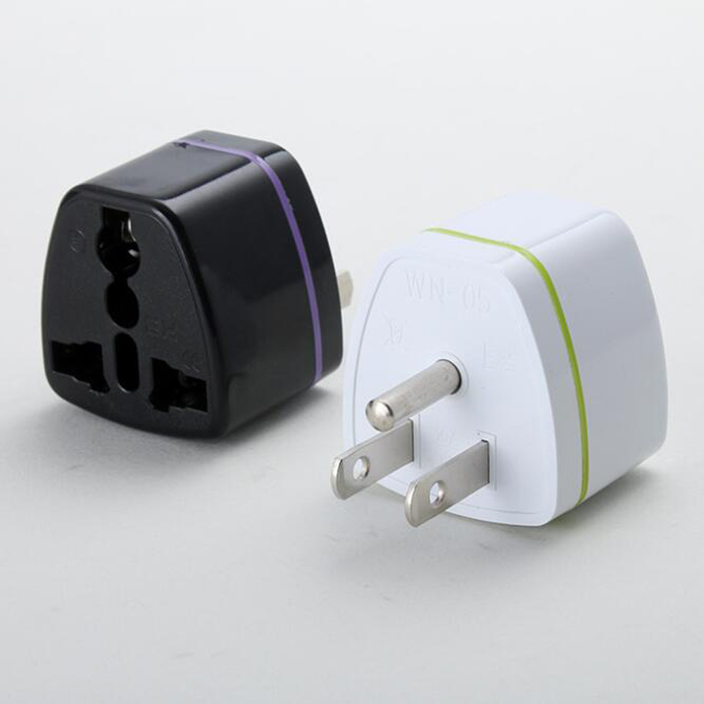 EU//UK//AU To US United States Travel Power Adapter Wall Plug Outlet Converters