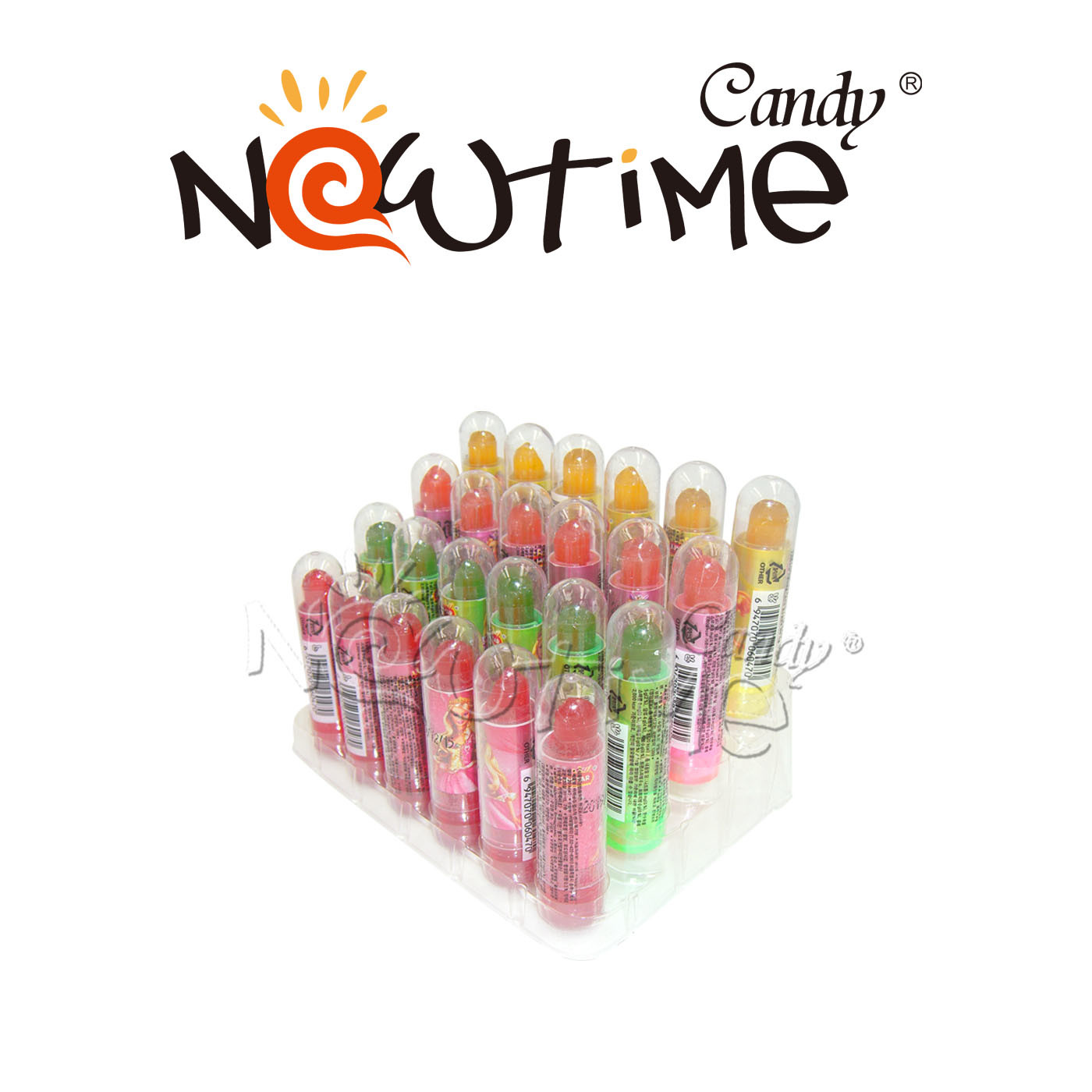 China Ntp18664 5g Mix Colorful Fruit Flavor Lipstick Hard