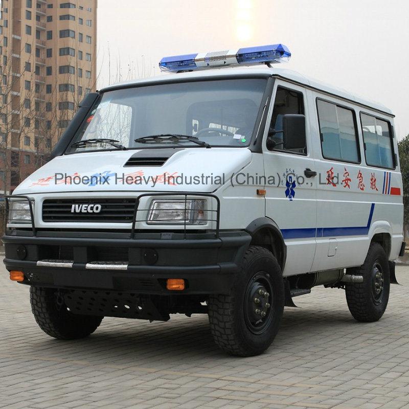 nj2044gcfp iveco 4wd LHD ambulance 4x4 ambulance auto s