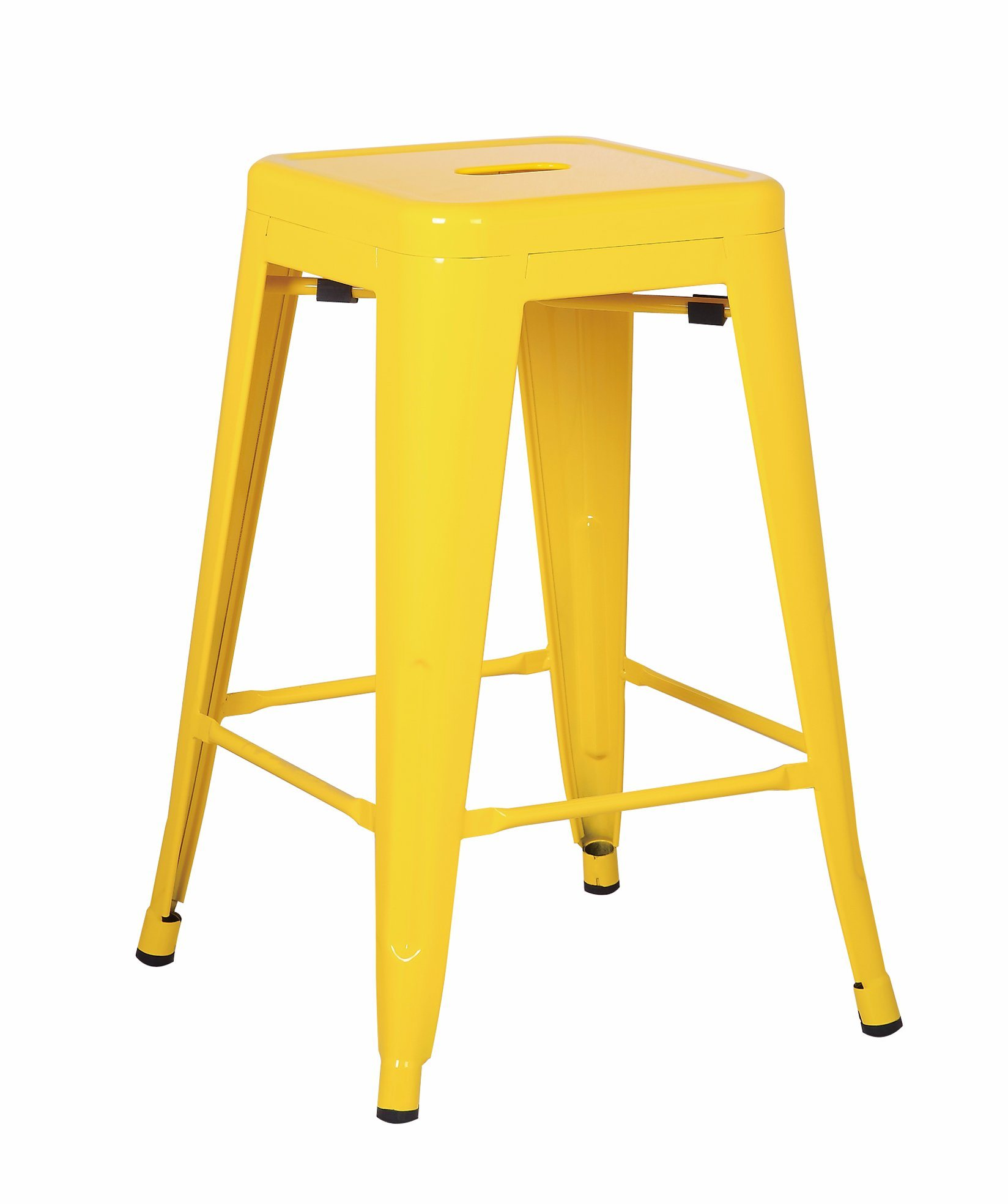 China Metal Bar Stool 30 Tolix Style Ibdoor Outdoor Barstool Modern Industrial Backless Light Weight Bar Stools With Square Seat Set Of 4 China Metal Chair Dining Chair