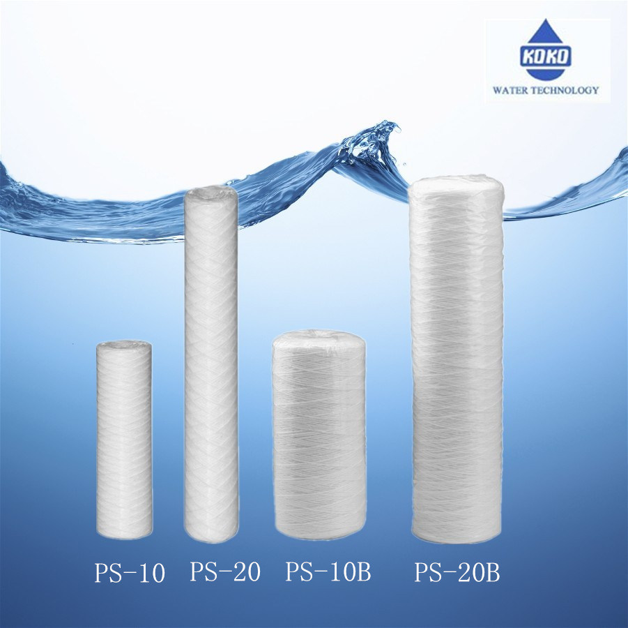 Home Household Water Filter Cartridge PS-10 PS-20 Particles Dust Remove
