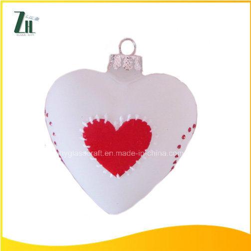 china glass heart shaped ornaments china glass heart shaped