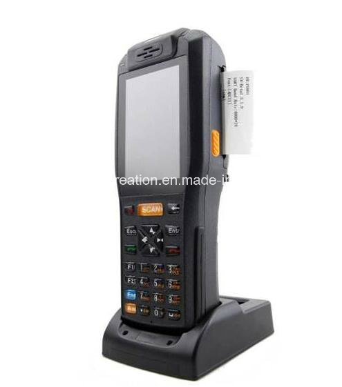 Handheld Computer PDA with NFC/GPS/3G/ 58mm Thermal Printer and Barcode Scanner (MG-9878QH)