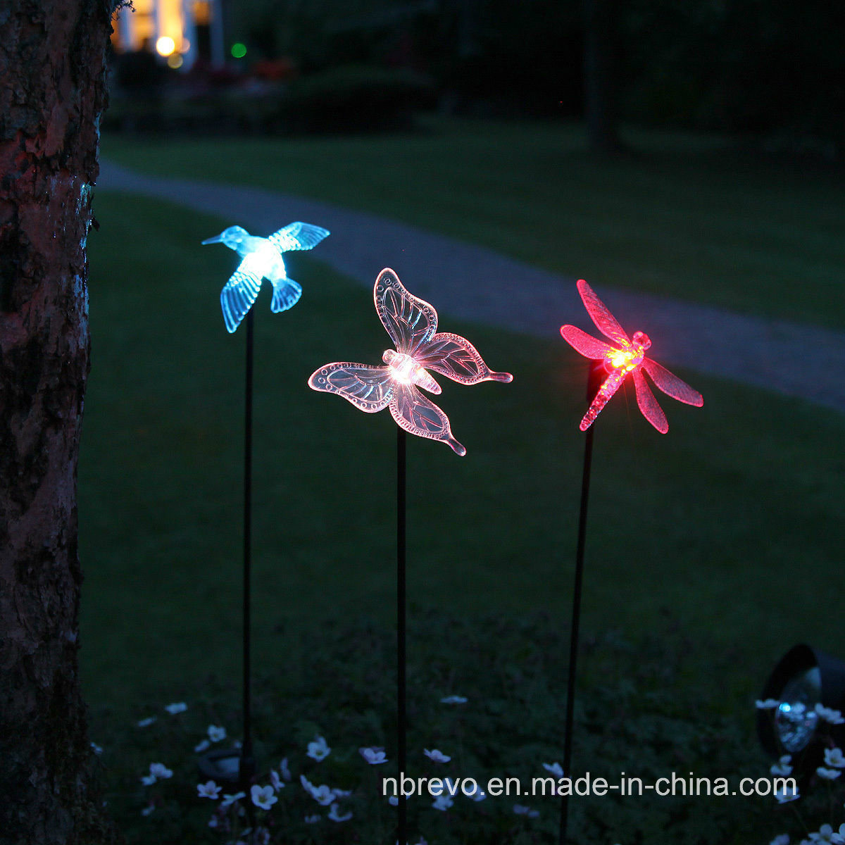 Solar Powered Garden Birds Light (RS102) pictures & photos