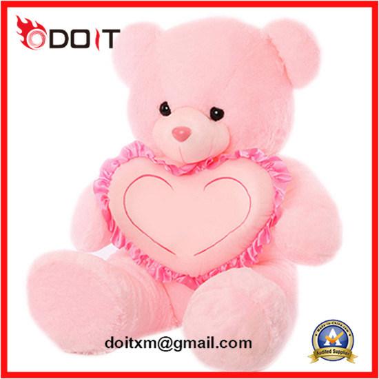 China Pink Heart Teddy Bear Valentines Teddy Bear for
