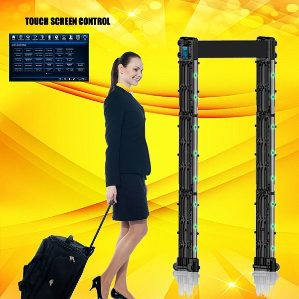 Portable Full Body Scanner Door Frame Walk Through Metal Detector pictures & photos