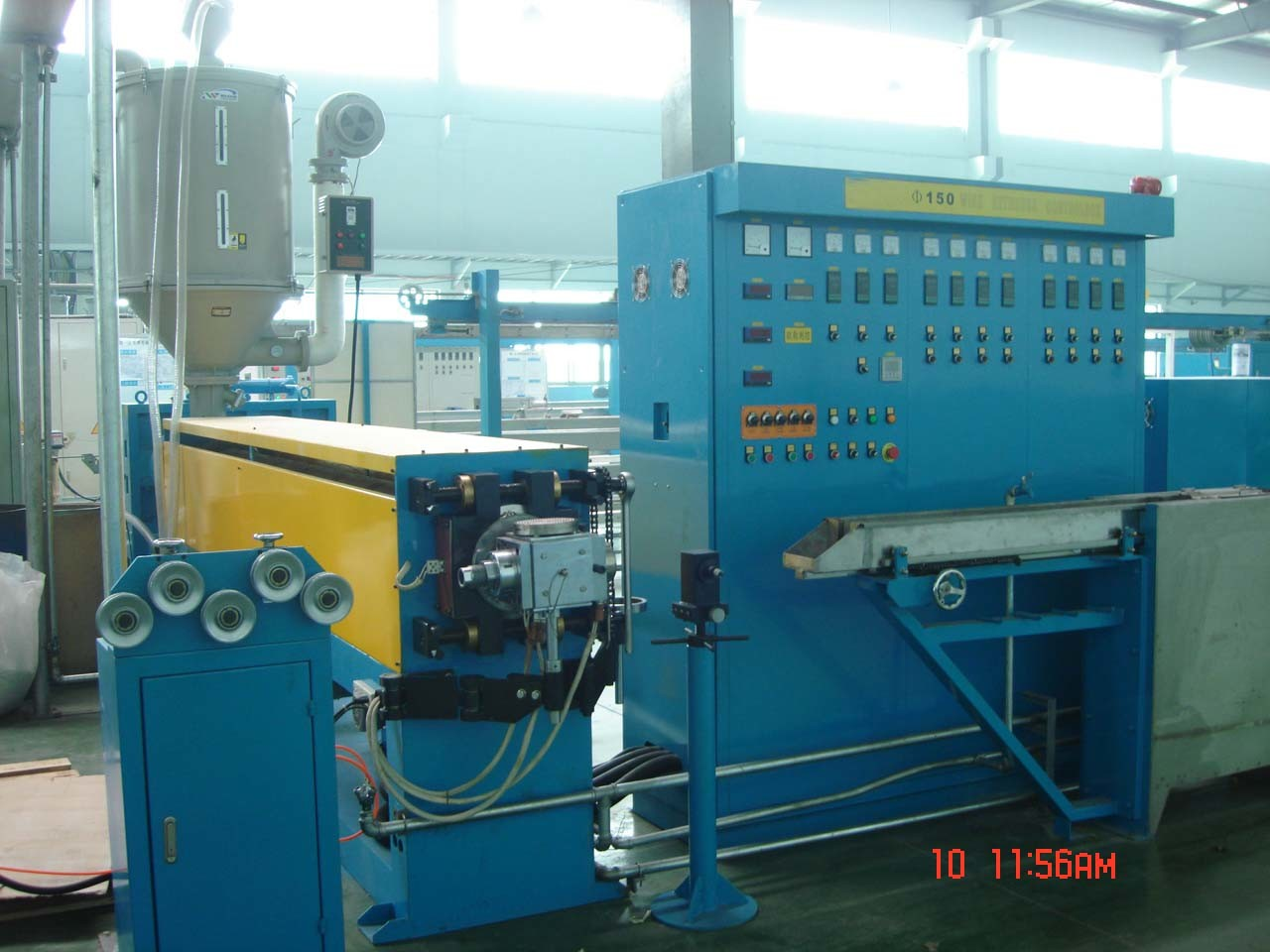 China Diameter 150mm Extrusion Machine for Wire and Cable Production ...