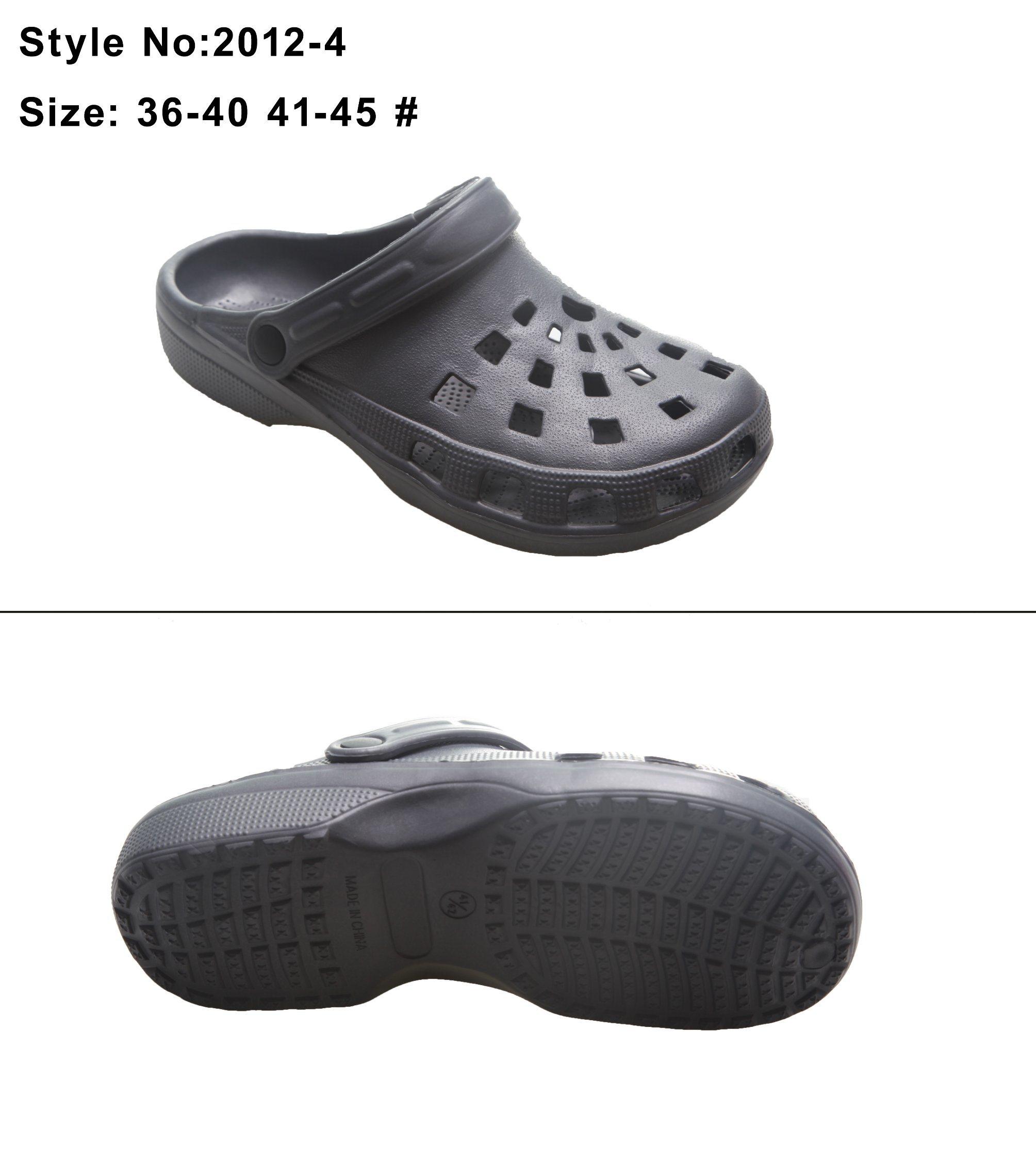 319b28a735c1e China Custom Logo Unisex Holey Upper Anti-Slip EVA Garden Clogs - China Clog