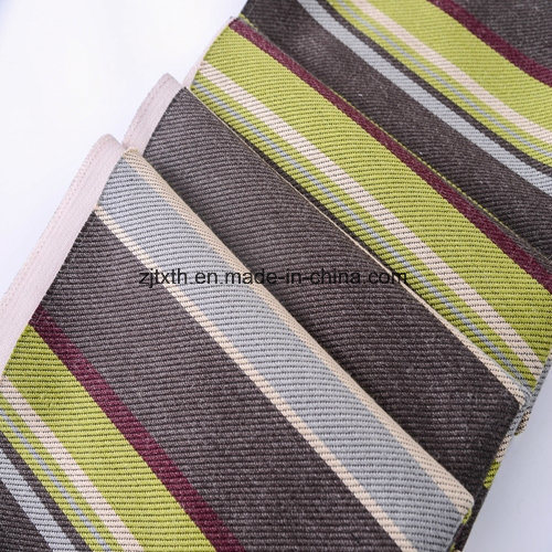 China High Quality Stripe Item Linen Furniture Fabric for
