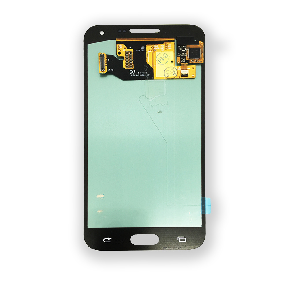 China 50 Inch Touch Screen Panel Replacement For Samsung Galaxy E5 E500 E500f Lcd Front Outer Glass Cover Lens With Logo