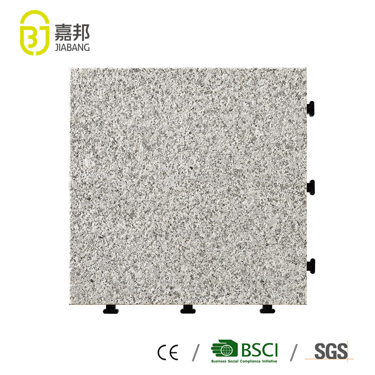 China Exterior Interlocking Floor Tiles Standard Size Thick Carpet ...