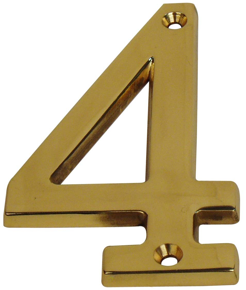 High Quality Brass House Number / Door Numbers /Hotel Room Number/Apartment  Door Number Sw 074