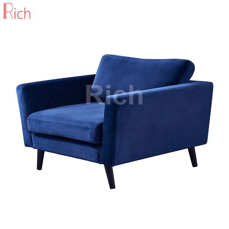 China Home Wooden Couch Furniture Navy